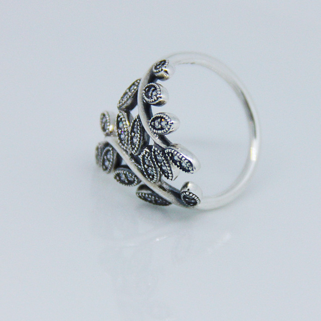 Rings Compatible with European Style Jewelry Sparkling bow Size #6-9 New 100% 925 Sterling Silver Fashion Women CKK