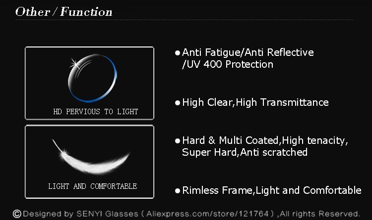 ed7265bb097 HTB1pUY3RpXXXXXDaXXXq6xXFXXXH Luxury Eyeglasses Rimless Women Myopia  Prescription Eye Glasses Diopter Rhinestone High Clear Lenses Gold Ladies