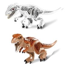 Jurassic Dinosaur World Figures Tyrannosaurs Rex Building Blocks Compatible With Sermoido Toys For Children