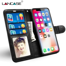 Get more info on the For iPhone 8 Case Luxury Leather Wallet Coque For iPhone 8 plus Case Cover Silicone With Card Slot Kickstand Retro Vintage Capa