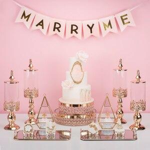 Image 2 - Azucarero, mesa de postres de boda, decoración, azucarero, tarro de cristal para dulces, bizcocho tentempié, depósito de almacenamiento