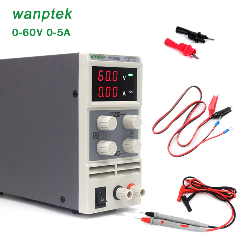 Wholesale precision Compact Digital Adjustable DC Power Supply 60V 5A 110V-230V DC power supply rps6005c 2 dc power supply 4 digital display high precision dc voltage supply 60v 5a linear power supply maintenance