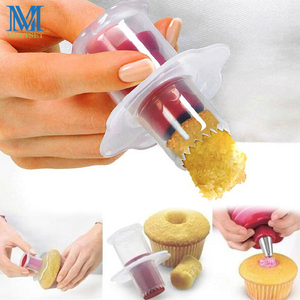 Creative Muffin Cake Hole Digger DIY Cupcake Corer Cake Cored Remove Device Muffin Cup Cakes Baking Dessert Pastry Decoration