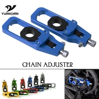 Motorcycle Rear Axle Spindle Chain Adjuster Tensioners Catena For BMW S1000RR 2009 2016 S1000R 2014 2015 HP4 2012 2013 dropship