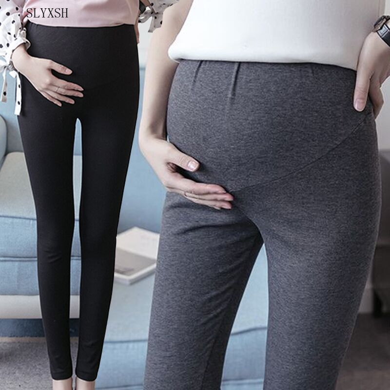 New Spring Cotton Maternity leggging Pregnancy Clothes Autumn Women Pants For Pregnant Women Leggings Maternity Clothing