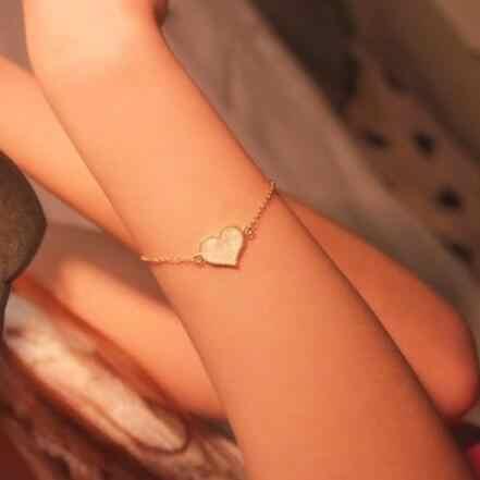 2019 nouvelle mode alliage en forme de coeur pentagramme papillon fausse perle collier Bracelet femme breloque bijoux accessoires 1 pièces