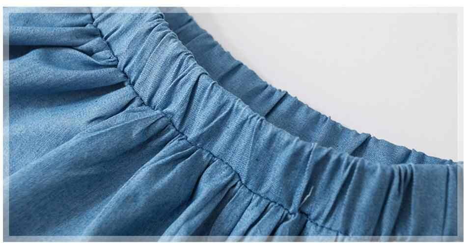 Mini faldas de algodón bordadas Arco Iris animal ropa de bebé de verano pequeño maven 2019 nuevo S0498