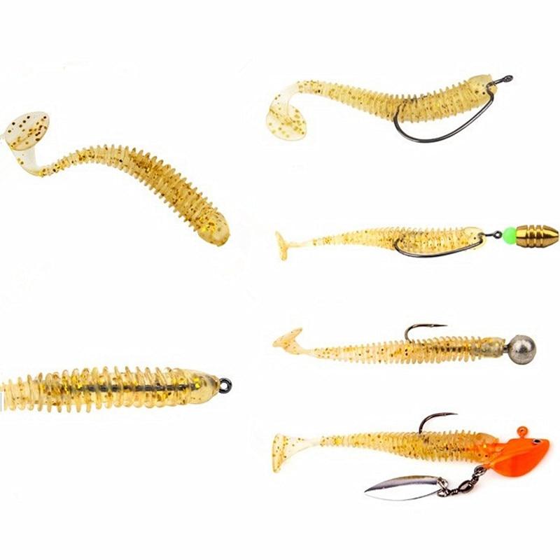 KKWEZVA 10 copë Peshkimi i butë joshë 7cm 2g magjike Peshku - Peshkimi - Foto 2