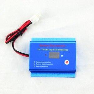 Image 3 - 12V 24V System baterii konserwator odsiarczający odmławiacz przywróć baterię 12V   72V