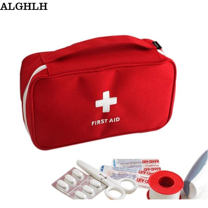 Ženy cestovní bezpečnostní potřeby Neodolatelné lékařské pytlíky na léky Multifunkční cestovní kostky Organizace Bag Lékařské spojkové vaky