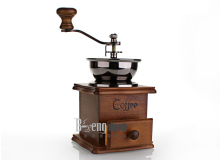 NEW ARRIVAL manual burr coffee grinder FREE SHIPPING to some countries