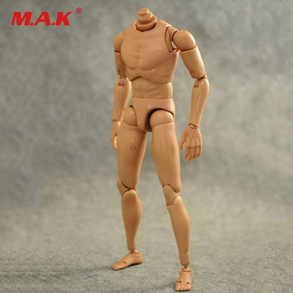 1:6 Scale Nude Body Action Figure Male Muscular Body Caucasian Soldier Story Model Accessory for 12 Dragon Action Figure Toy zh005 1 6 scale knights of malta ancient medieval action figure soldier type 12 figure body for collection gift