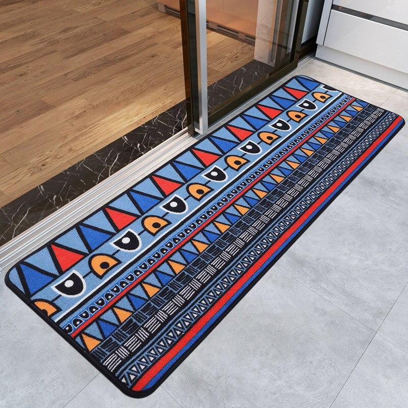 40X120 CM mode géométrie cuisine tapis portes coulissantes/balcon zone tapis canapé/vestiaire tapis de sol longues chambre tapis et tapis