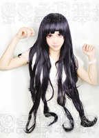 Dangan Ronpa 2 Danganronpa Mikan Tsumiki Cosplay Hair Wig +wig cap