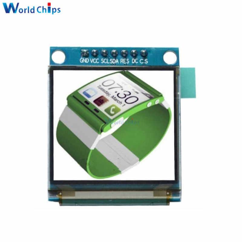 Diymore 1.5 인치 128x128 rgb spi 인터페이스 oled lcd 디스플레이 ssd135 드라이버 ic arduino 51 stm32 용 7pin 풀 컬러 oled 모듈