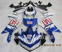 Горячие продаж, R1 07 08 ABS литья под давлением зализа комплект для Yamaha Yzf R1 2007 - 2008 спортивный мотоцикл синий FIAT обтекатели ( термопластавтоматы )