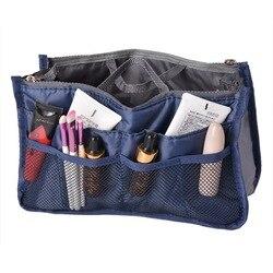 NIBESSER Kosmetik Tasche Reise Veranstalter Tragbare Schönheit Tasche Tasche Toilettartikel Make-Up Veranstalter Telefon Tasche Fall