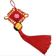Chinese Knot Tassel Decoration 10 pcs Fringe Trim Household Hanging Creative Fashionable Pendants New Year Gifts