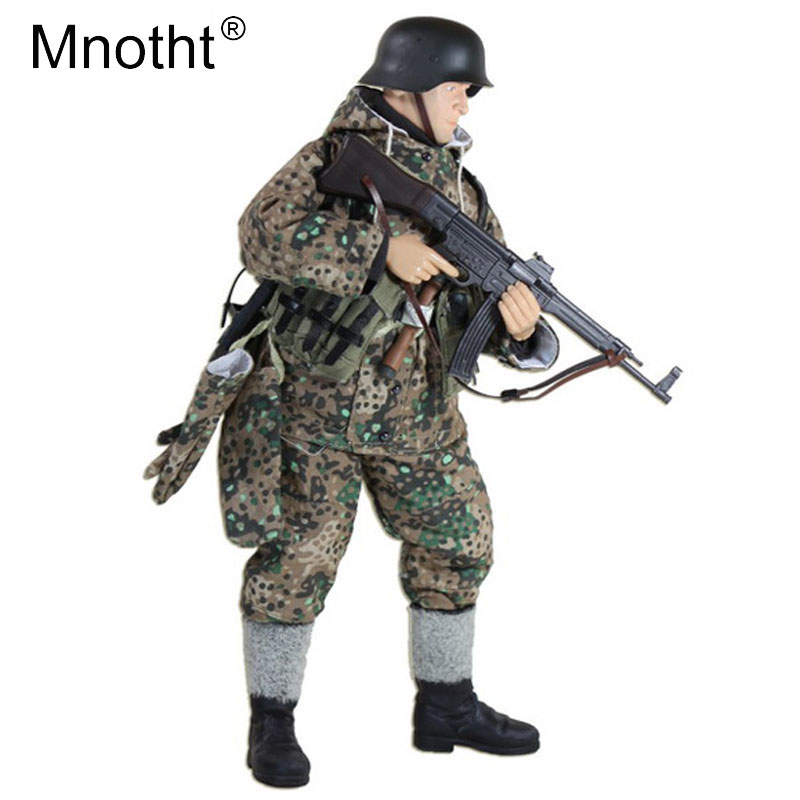 1/6 Scale Soldier Action Figures FH005 WW II Soldier Skulls East Line Assault soldiers Model Collections m3 военные игрушки для детей soldier story ss 054 1 6 1945