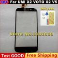 100% QC PASS Touch Panel de Cristal Digitalizador de Pantalla Para UMI X2 X2 voto V5