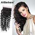 Indian 4x4 Curly Closure 8A unprocessed Virgin Indian Deep Curly Closure Indian Virgin Curly Hair Lace Closure