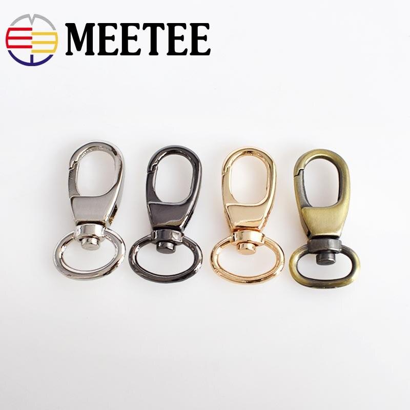 10 Pcs 13*37 Millimetri Keychain Cane Collare Di Metallo Fibbie Borse Cinghia Di Metallo Borsa Fibbia Gancio Catenaccio Ganci Fai Da Te Accessori Borsa