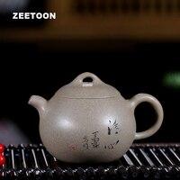 140cc Аутентичные Исин Чай горшок Qingxin маленький горшок китайский здравоохранения фиолетовый глины Винтаж Чай комплект Чай горшок Чай Maker чай