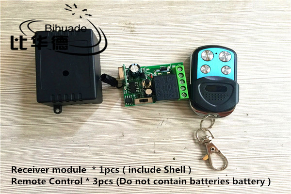 433 Mhz Universal Wireless Remote Control Switch DC12V 1ch relay Receiver Module RF Remote 433Mhz Transmitter with Two-button 433mhz wireless remote control switch dc12v 1ch superheterodyne relay receiver module with rf transmitter 433 mhz remote control