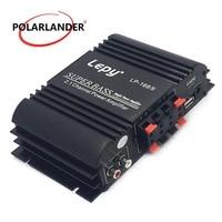 Lepy LP 168S 12V Power Subwoofer 2.1 Channel Auto Audio Car Amplifier Bass Output HiFi Stereo Sound WithAUX Function Speaker