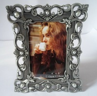 Classicial Frame Europe Metal Photo Frame 3 Colors To Choose