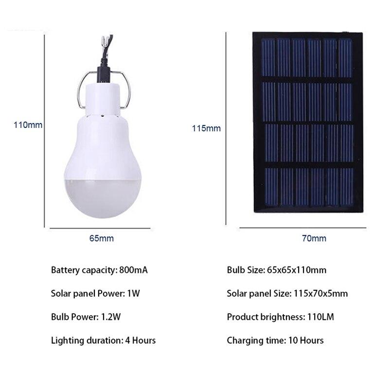 Luzes da Noite de energia de luz solar Fonte de Energia : Solar