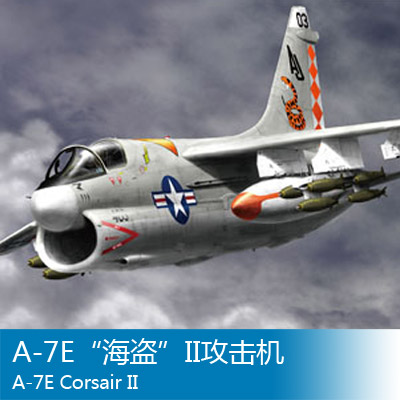 Assembly model Trumpeter 1/48 A-7E II aircraft 1 400 jinair 777 200er hogan korea kim aircraft model