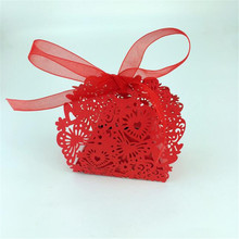 20pcs/set Wedding favors Butterfly  Candy Gift Box