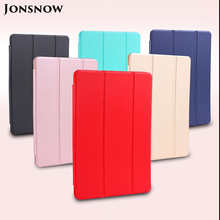 JONSNOW Case for Apple iPad mini 2 3 4 Ultra Slim Litchi Texture PU Leather Wake Up Fold Stand Protective Tablet Smart Cover стоимость