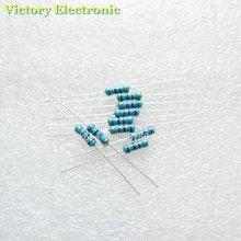 50PCS Lot New 1 2W 0 5W 1 Resistor 120 ohm Metal Film Resistor Color Ring