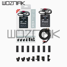 Кабель Qianli iPower max с переключателем ВКЛ./ВЫКЛ., iPower Pro для iPhone 6G/6S/7G/8G/8P/X/ XSXSMAX/11/11pro, испытательный кабель постоянного тока для контроля мощности