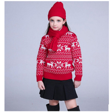 Children's wear 2016 autumn / winter / sweater / cashmere 3-16 year old boys and girls, autumn and winter warm sweater hot sale