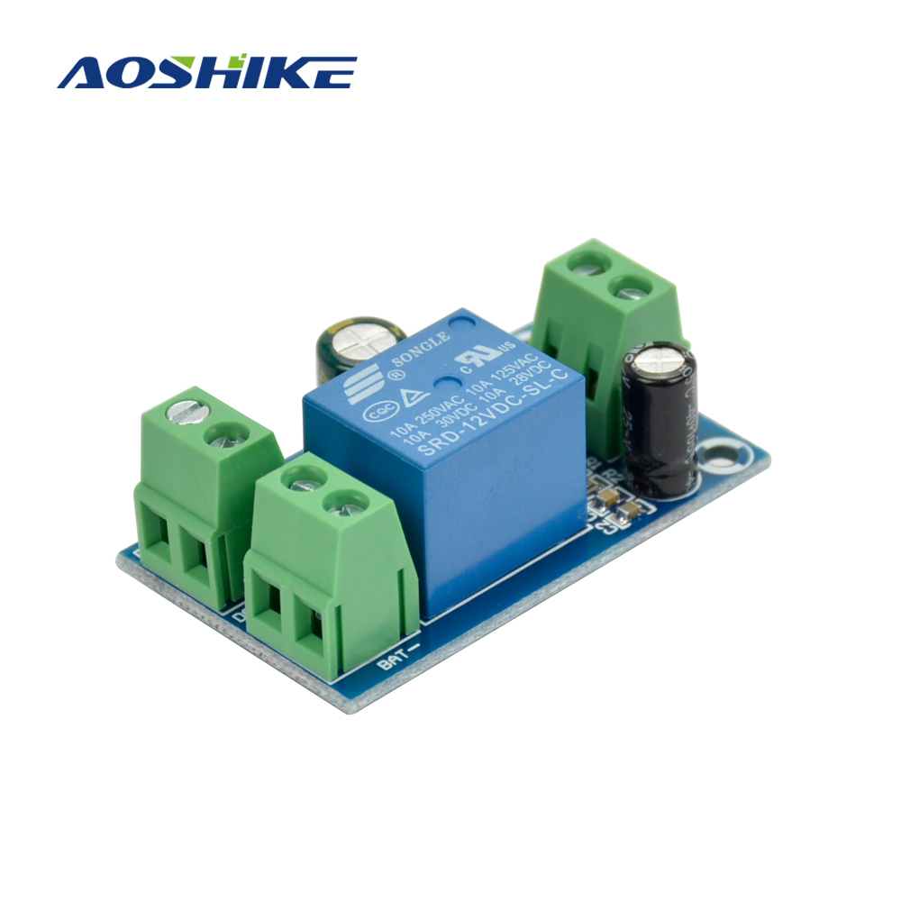 Aoshike 12V/24V/36V/48V Backup Battery Switching Module high power Board Automatic switching battery power