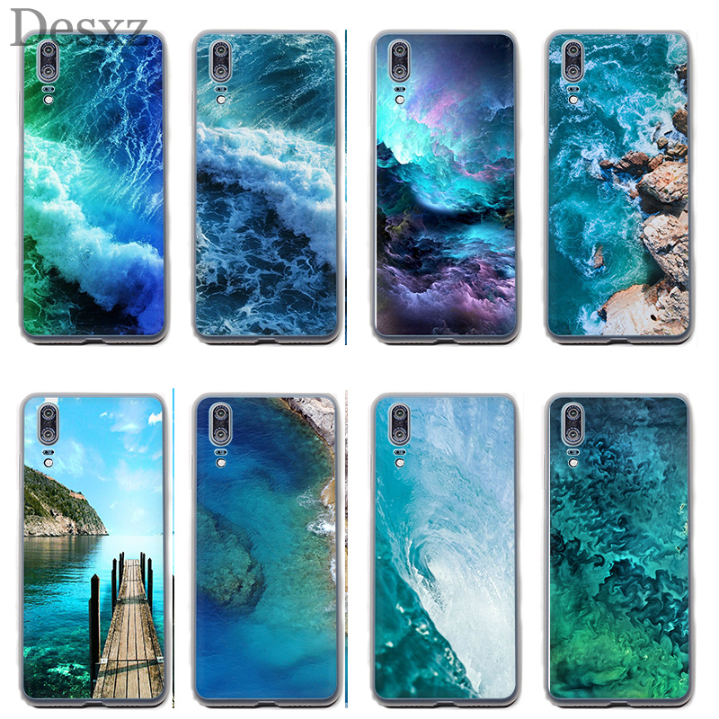 Phone Case Ocean Iphone Wallpaper For Huawei Y5 Y6 II Y7 Y9 Prime 2017 2018 Cover image