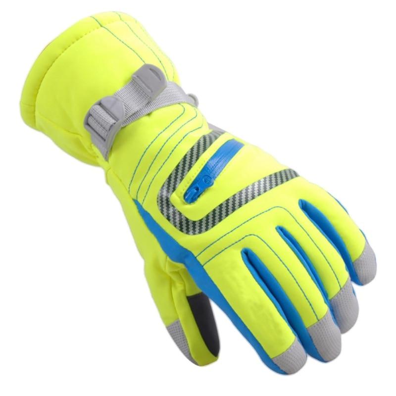Winter Professional Ski Gloves Girls Boys Adult Waterproof Warm Snow Kids Windproof Breathable Skiing Snowboard Gloves
