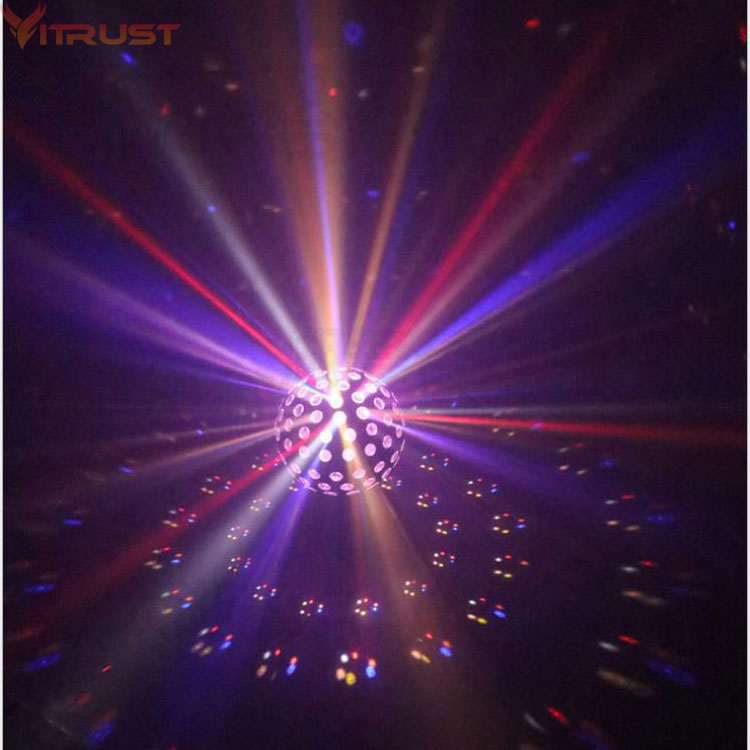 Stage Lights PRO DJ Show Party Lighting Disco Bar Xmas RGB 9 lighting Color Projector Spotlights Magic Ball strobe Moving head alluminum alloy magic folding table bronze color magic tricks illusions stage mentalism necessity for magician accessories