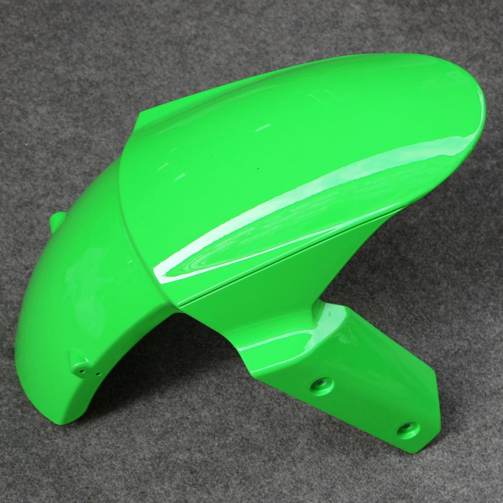 Front Tire Fender Mudguard Fairing Part Fit For Kawasaki Ninja ZX6R 2013-2015Front Tire Fender Mudguard Fairing Part Fit For Kawasaki Ninja ZX6R 2013-2015