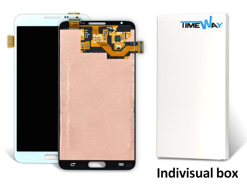10 unids dhl del teléfono móvil para samsung note 3 mini n7505 n750 lcd de panta