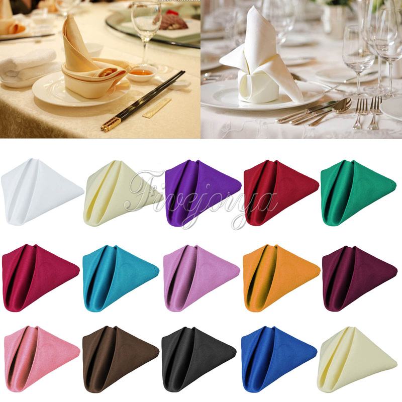 table napkins Napkin definition is - a piece of material (such as cloth or paper) used at table to wipe the lips or fingers and protect the clothes a piece of material.