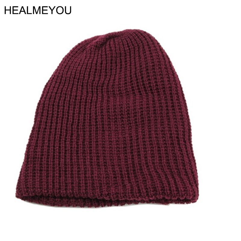 Fashion  Chic Men Women Warm Winter Hat Crochet Knit  Beanie Skull Slouchy Oversize Cap Hat Unisex dropshipping hot winter beanie knit crochet ski hat plicate baggy oversized slouch unisex cap