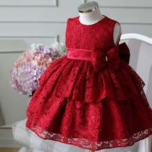 3-2M Birthday Toddler Girl Baptism Dress Princess Costumes Newborn Baby Princess Vestido Kids Gift Christening Wear Dresses