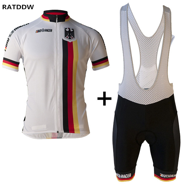 Germany Team Men Bike Cycling Clothing Ropa Ciclismo/Quick-Dry Bicycle Jerseys Breathable Cycling Jerseys Sportswear malciklo team cycling jerseys women breathable quick dry ropa ciclismo short sleeve bike clothes cycling clothing sportswear