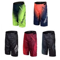 Multi color rappelling Summer motocross racing mountain bike bicycle wear resistant sports downhill shorts