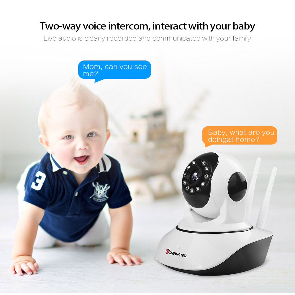 ZGWANG HD 720P Wifi IP Kamera Wireless Netzwerk Outdoor Sicherheit Kamera CCTV Überwachung IR Cut 2 weg audio Baby monitor Kamera