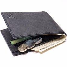 Con Bolso de La Moneda de la cremallera de los nuevos hombres carteras de cuero para hombre monedero pequeño dinero monederos Nuevo Diseño Dólar Precio Top Hombres Delgados billetera
